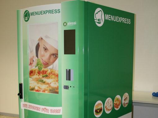 Menu express verde